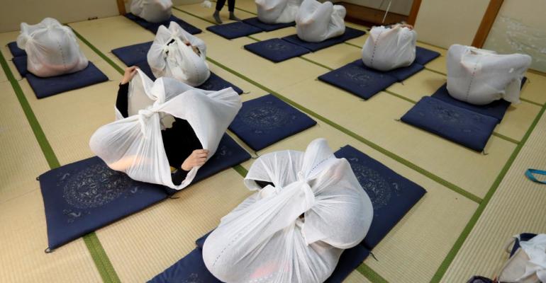 Otona maki : une technique de relaxation étonnante